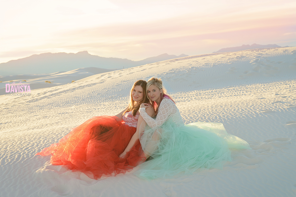 beautiful friends tulle skirt white sands