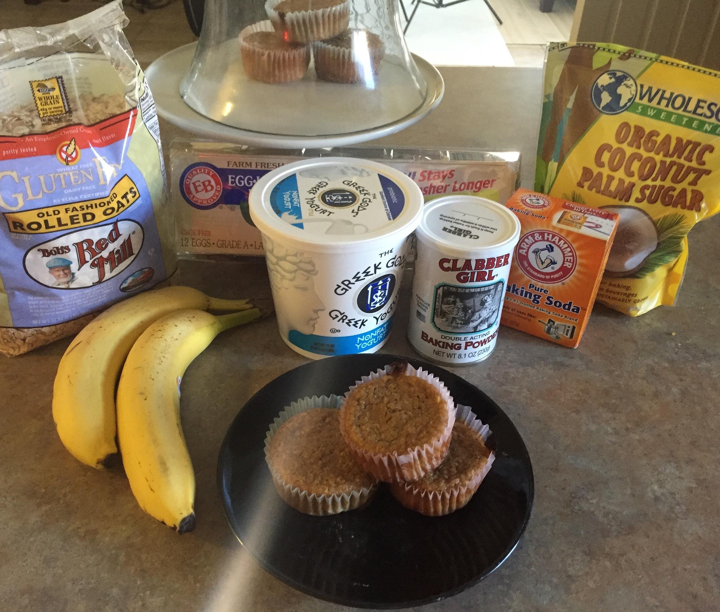healthy banana muffins recipes