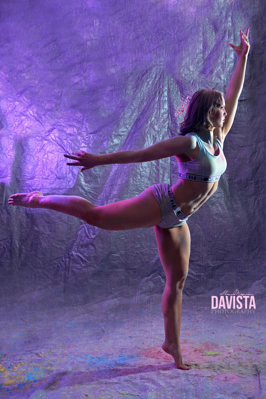 beautiful fitness shoot unique poses dancer