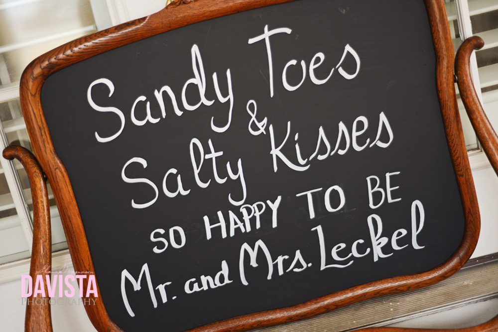 sandy toes and salty kisses to the happy to be mr and mrs