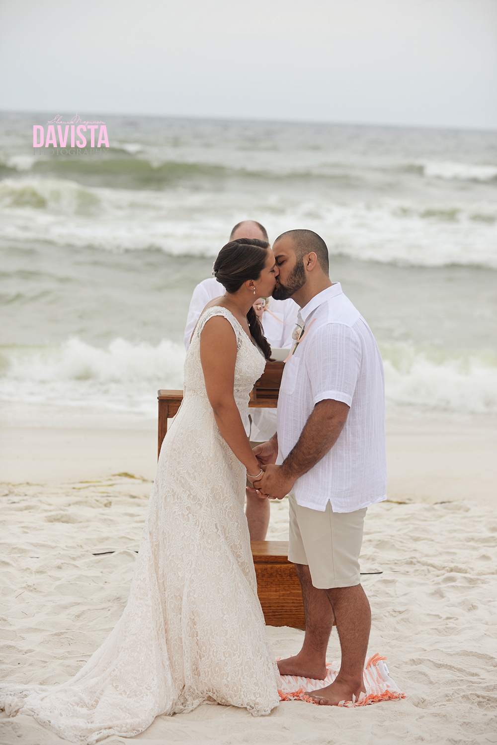 first kiss as husband and wife ceremony