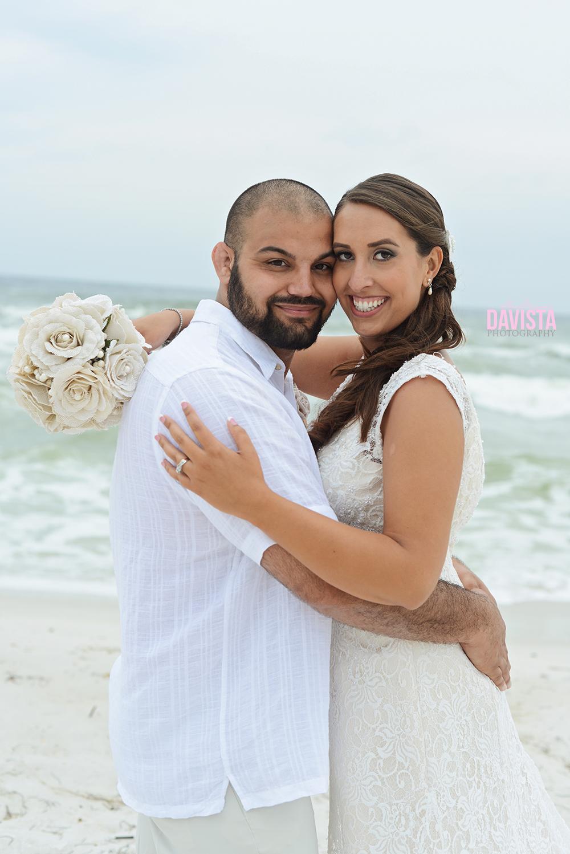 gorgeous couple on the beach