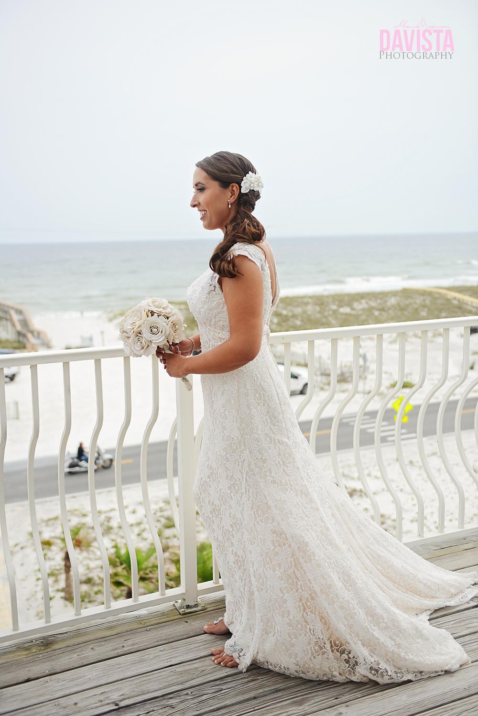 Bridals outdoor on deck