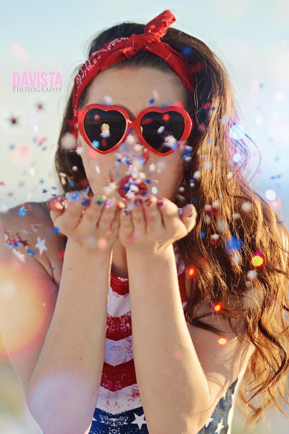cute confetti blowing alamogordo photography