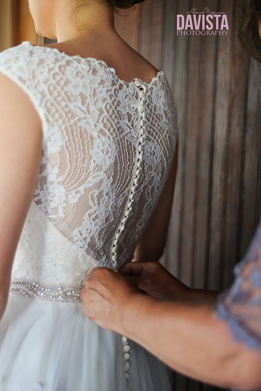 gorgeous lace button up wedding dress