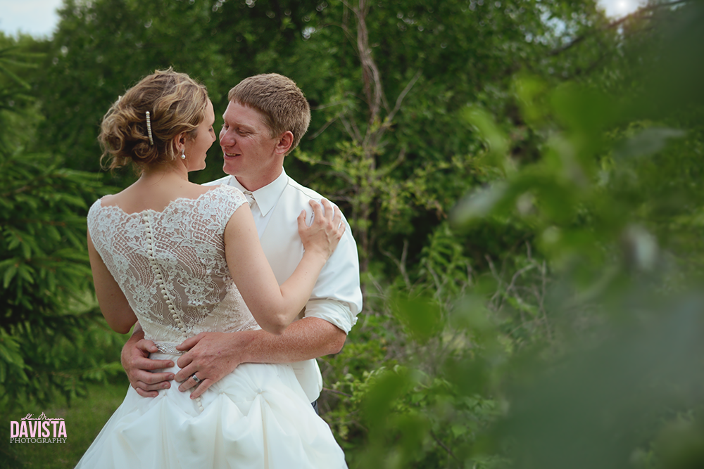 bride and groom portraits outdoors