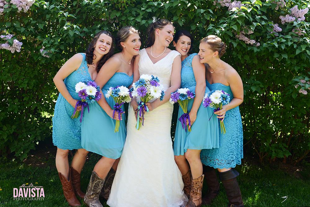 northern minnesota bridesmaid photographs