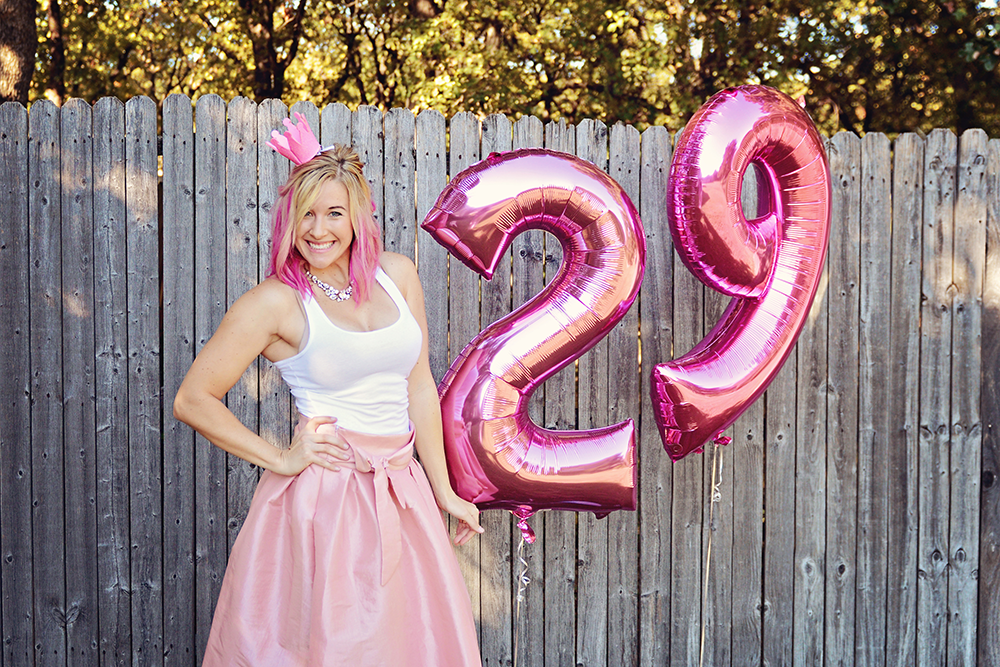 adult cake smash and photoshoot pink 29