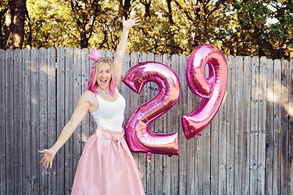 birthday photoshoot for women