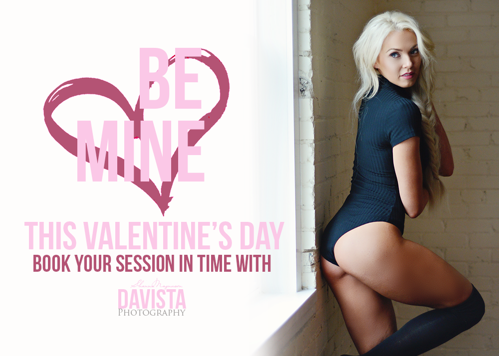 Hampton Roads valentines boudoir special for loved ones