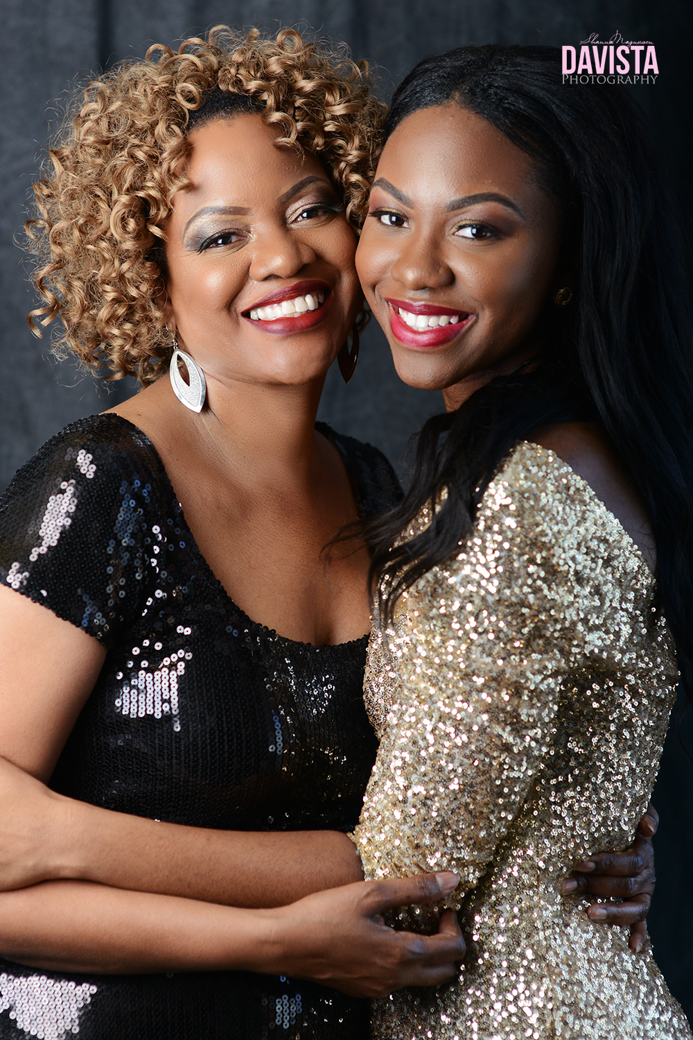 mother and daughter portraits glamour