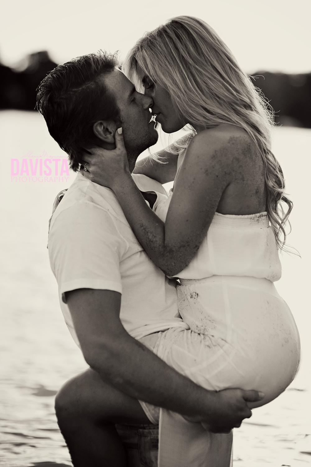 sexy couples boudoir beach photography