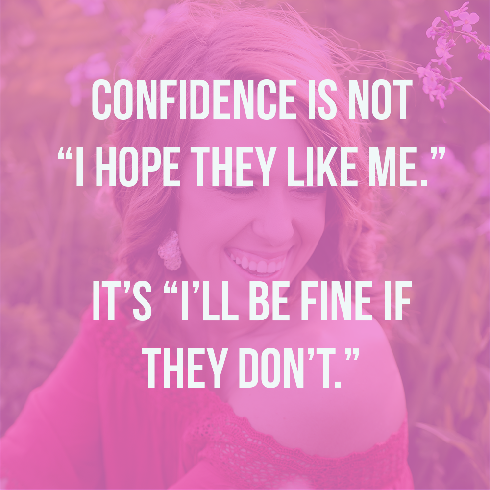 what confidence is