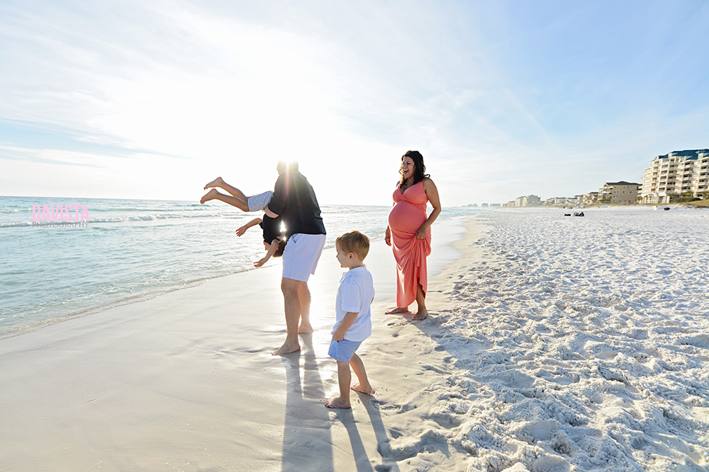Panama city family portrait photographer