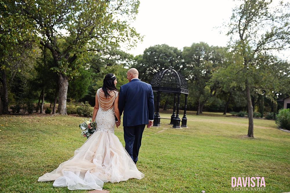 Flower mound Texas Aristide wedding venue