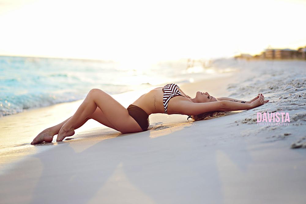 Panama City beach fitness and boudoir photography