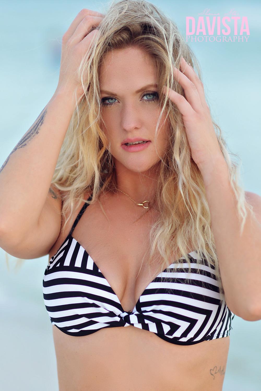 bikini beach photoshoot
