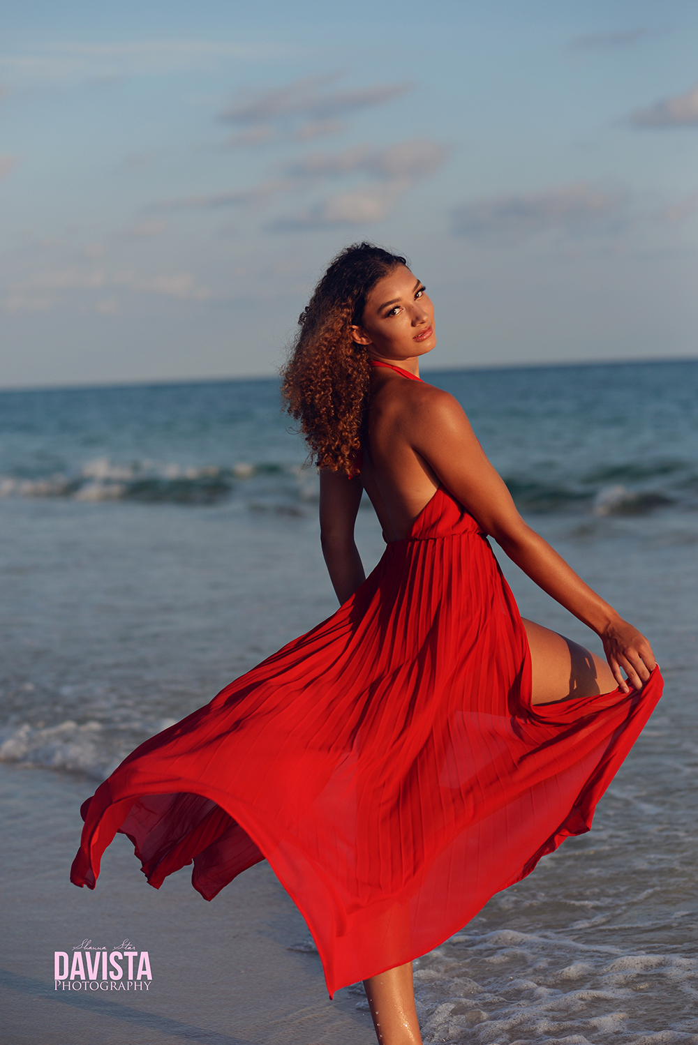 Panama City beach beauty portraits