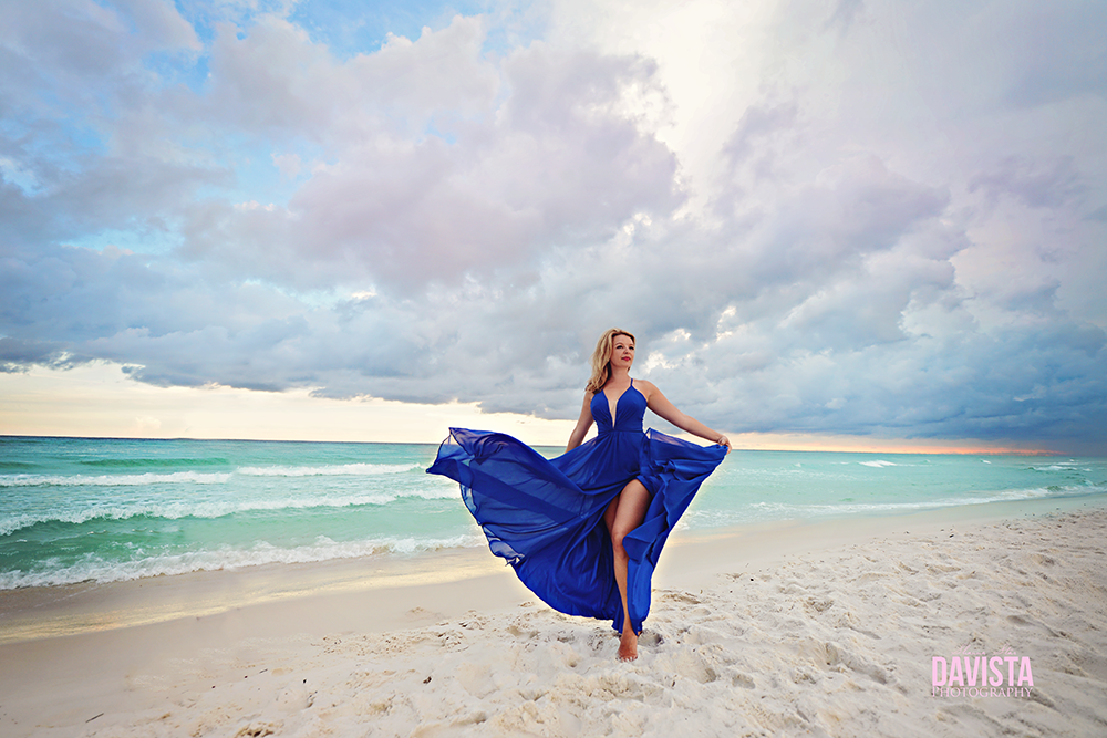 30a beauty and boudoir portraits on the beach