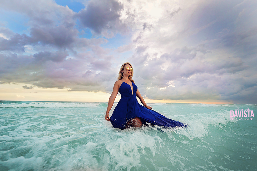 Panama City beach beach portraits