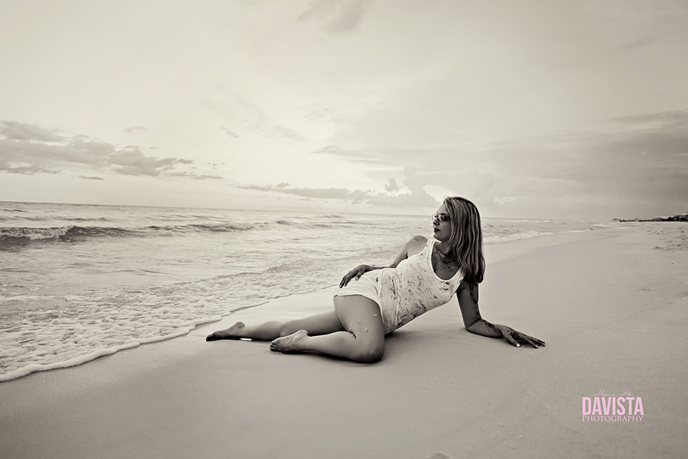 Panama City beach boudoir portraits and art