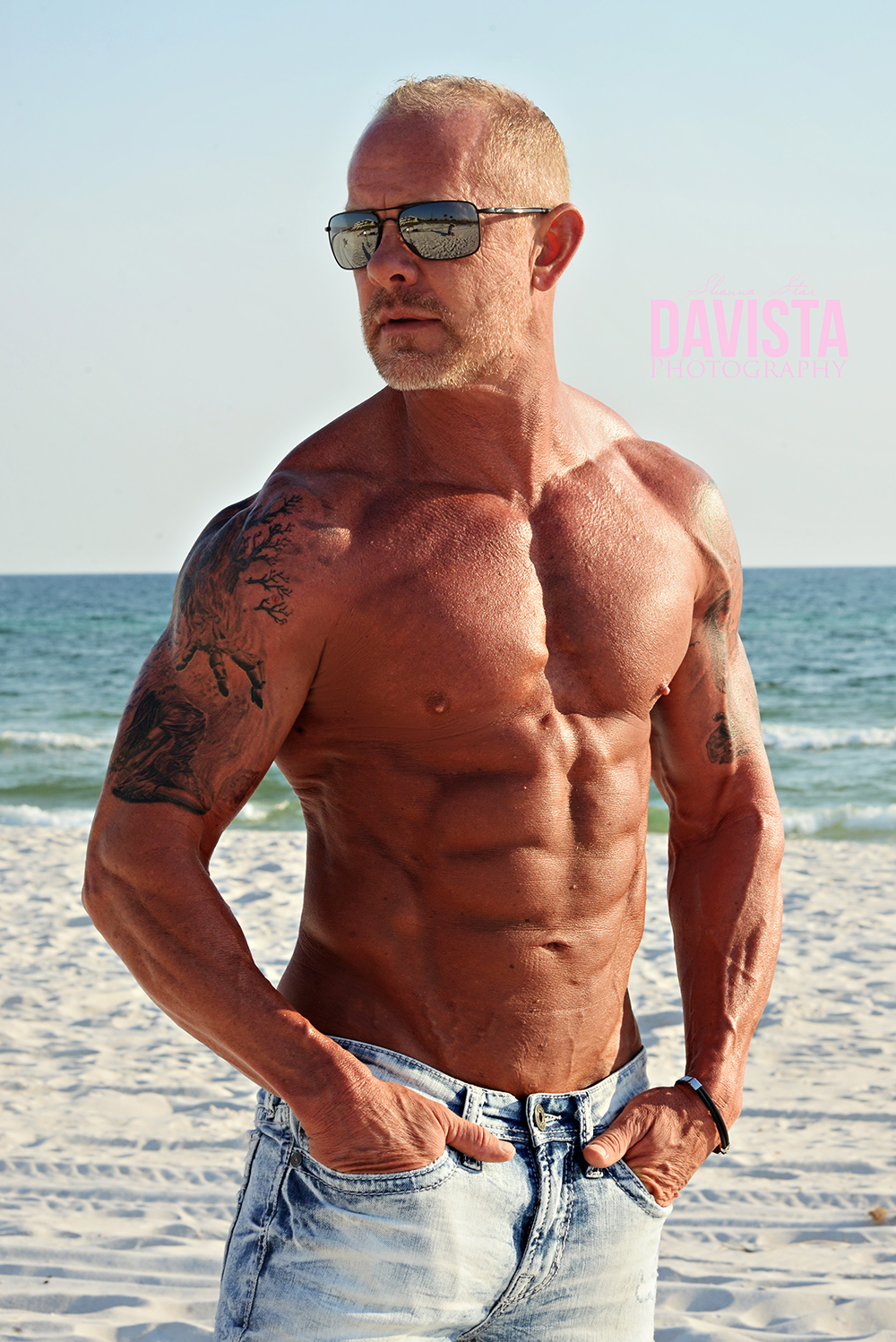 mens fitness photography on the beach- Florida