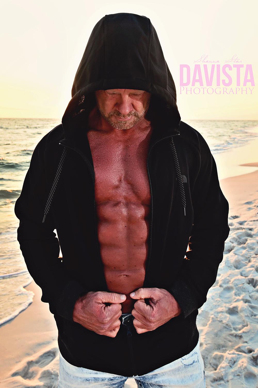 beach portraits for men