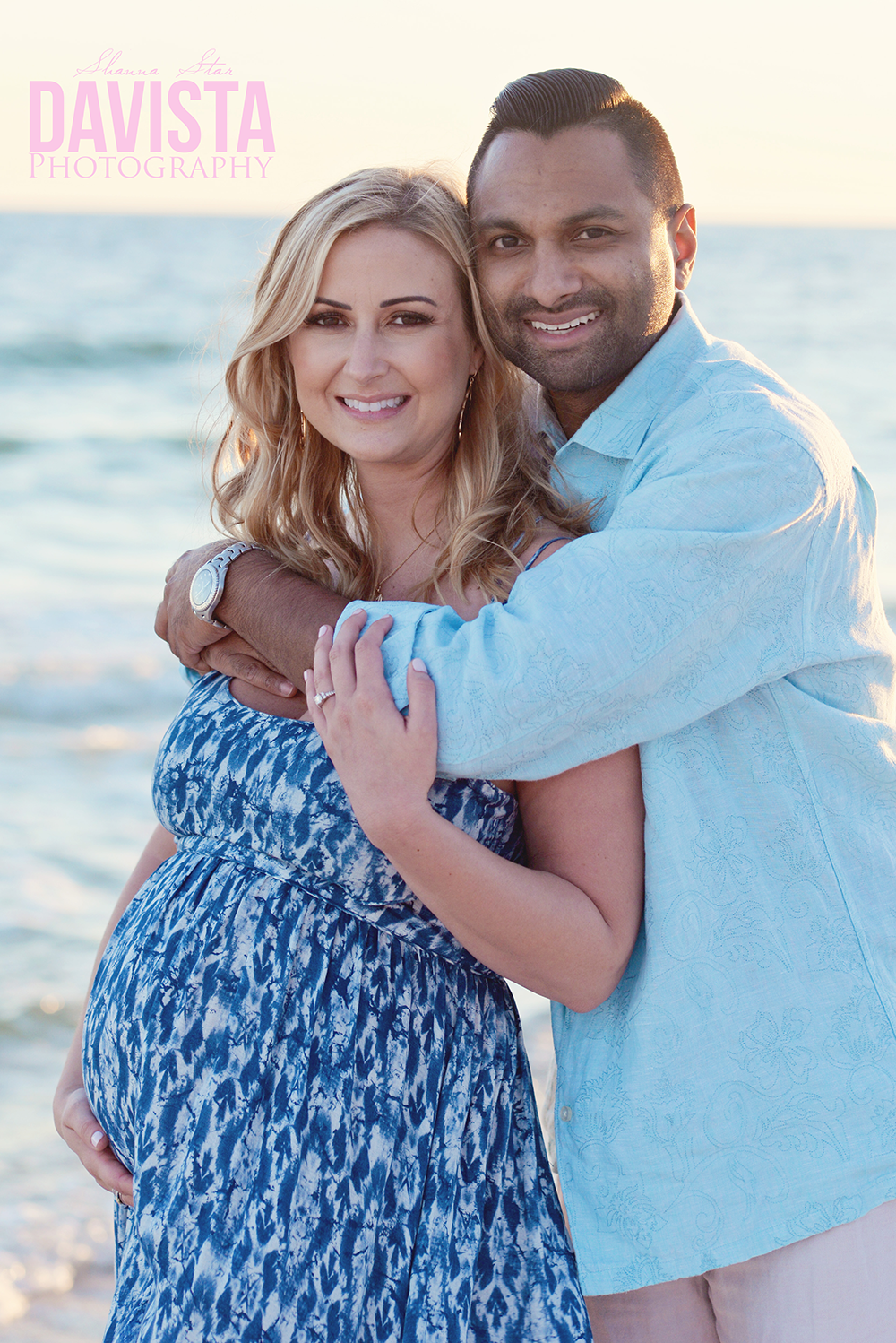 Panama City beach maternity photoshoot