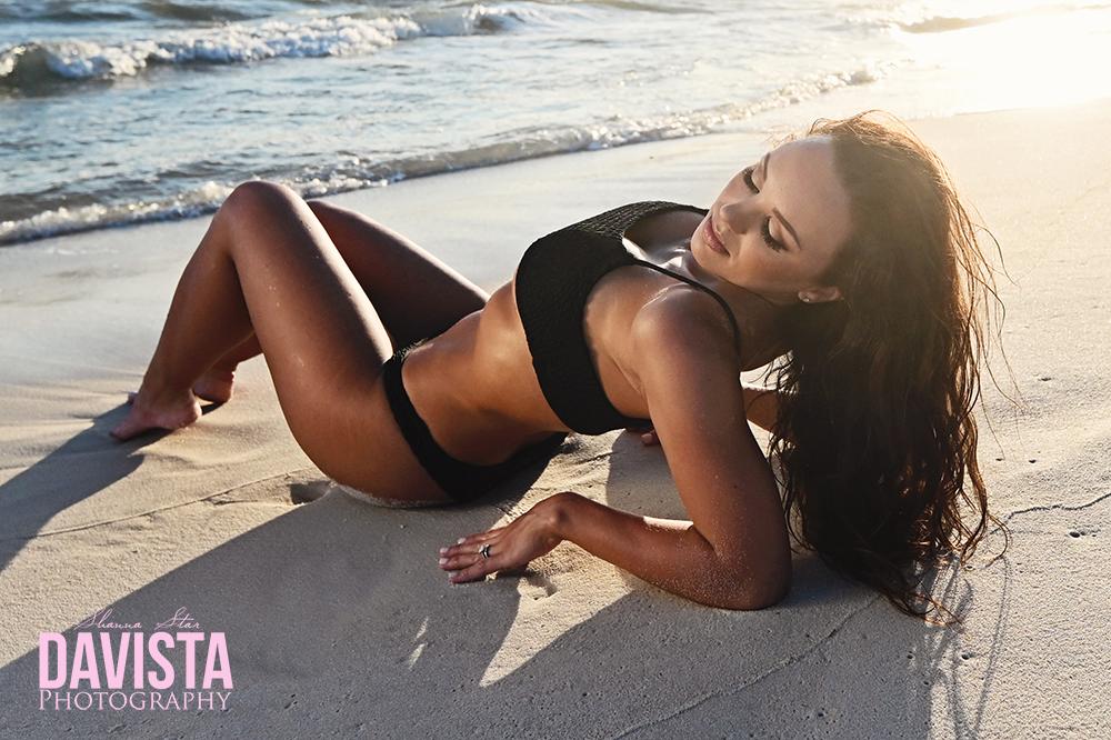 beach bikini boudoir poses