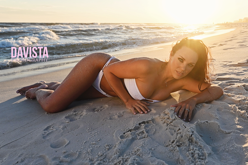 PCB- bikini photoshoot at sunset