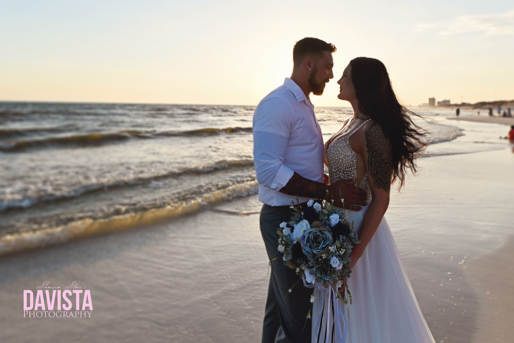 gorgeous intimate Panama City beach wedding photographer