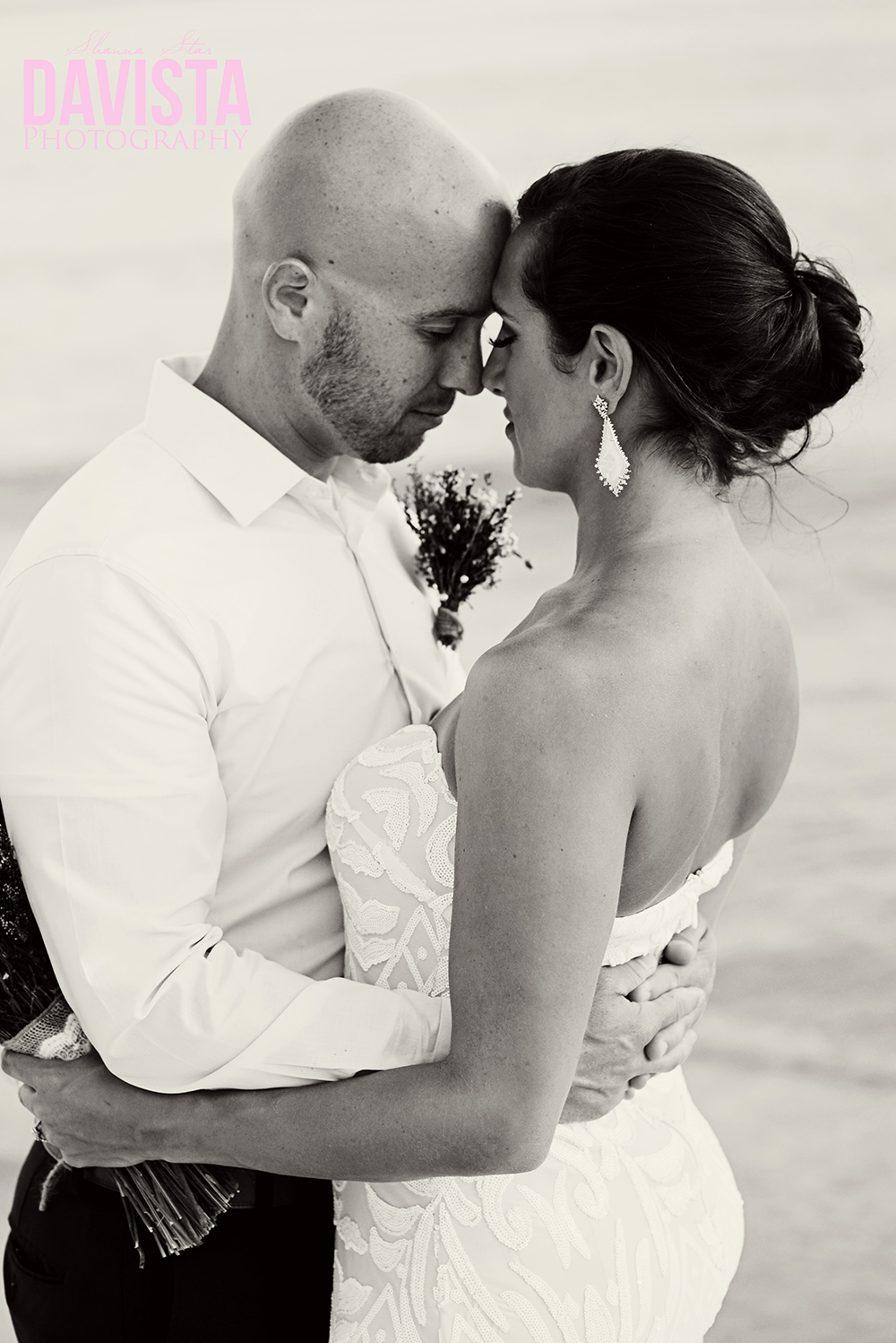 gorgeous intimate beach wedding