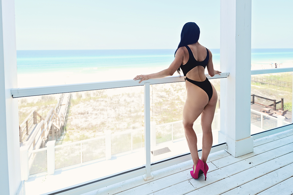 Panama city beach bikini photoshoot