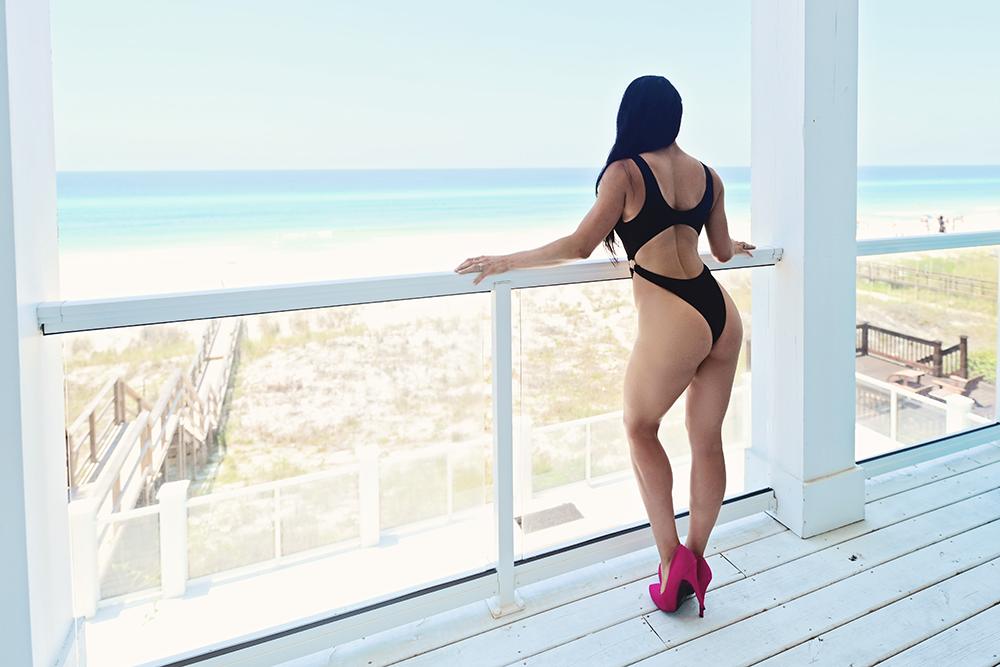 Panama city beach bikini photoshoot