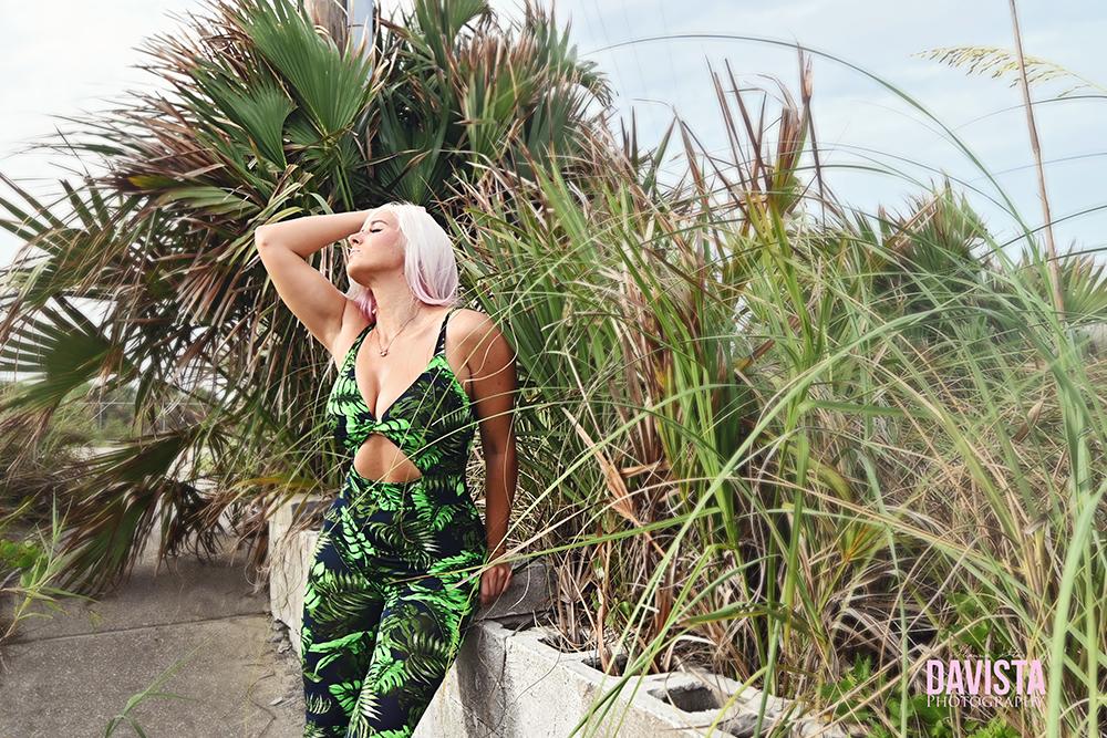 fashion nova jumpsuit beach portraits
