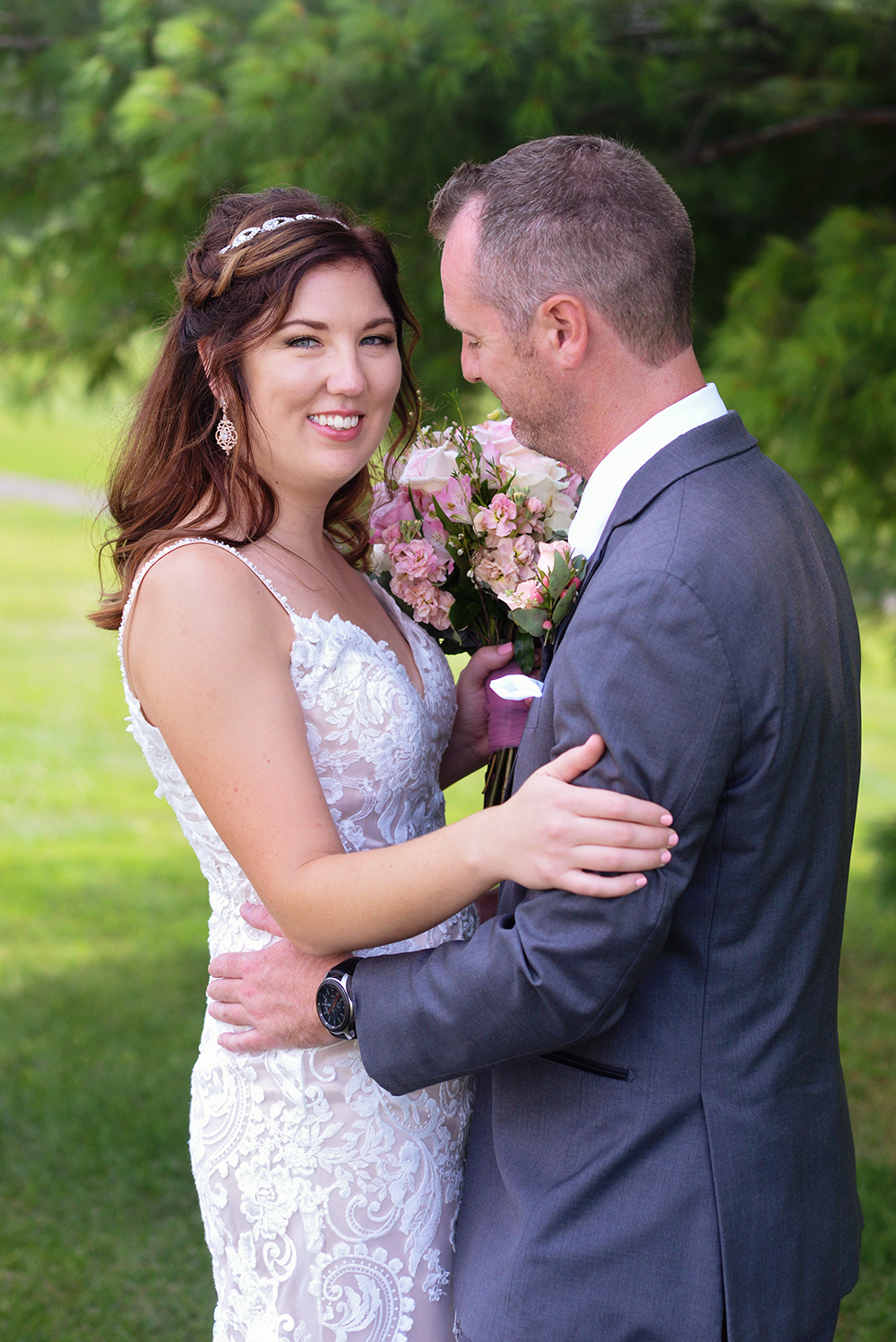 willow creek golf course wedding