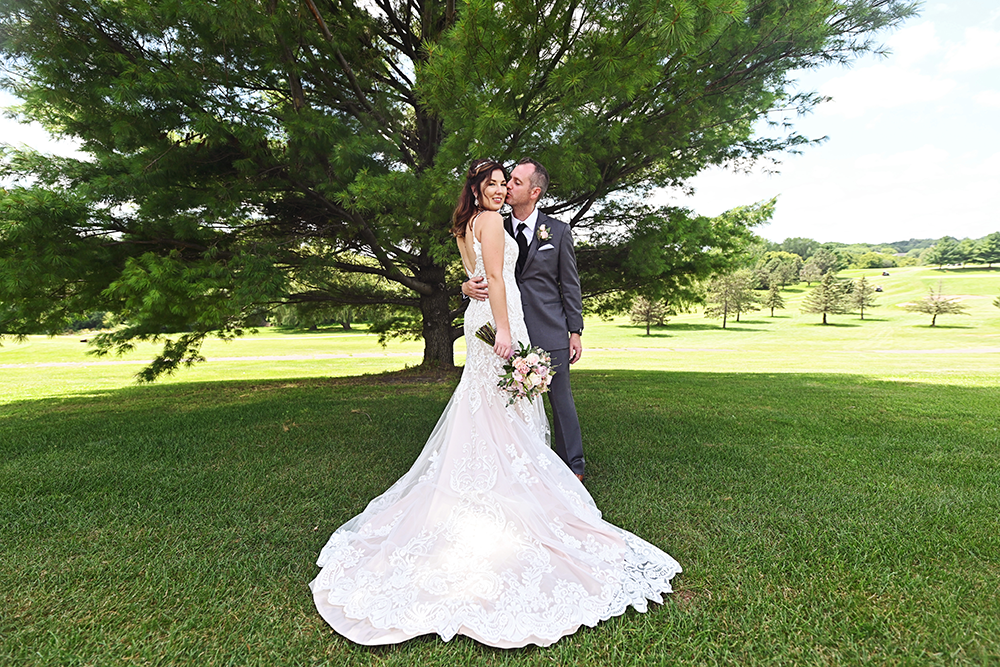 willow creek golf course wedding rochester