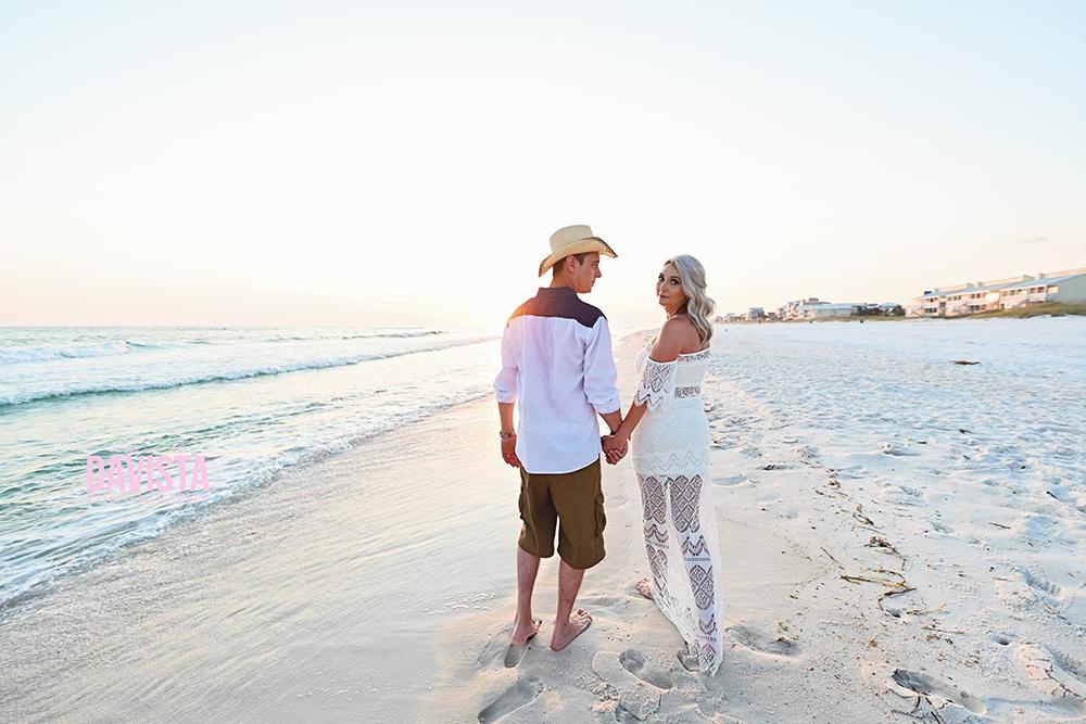 couples on the beach 30a