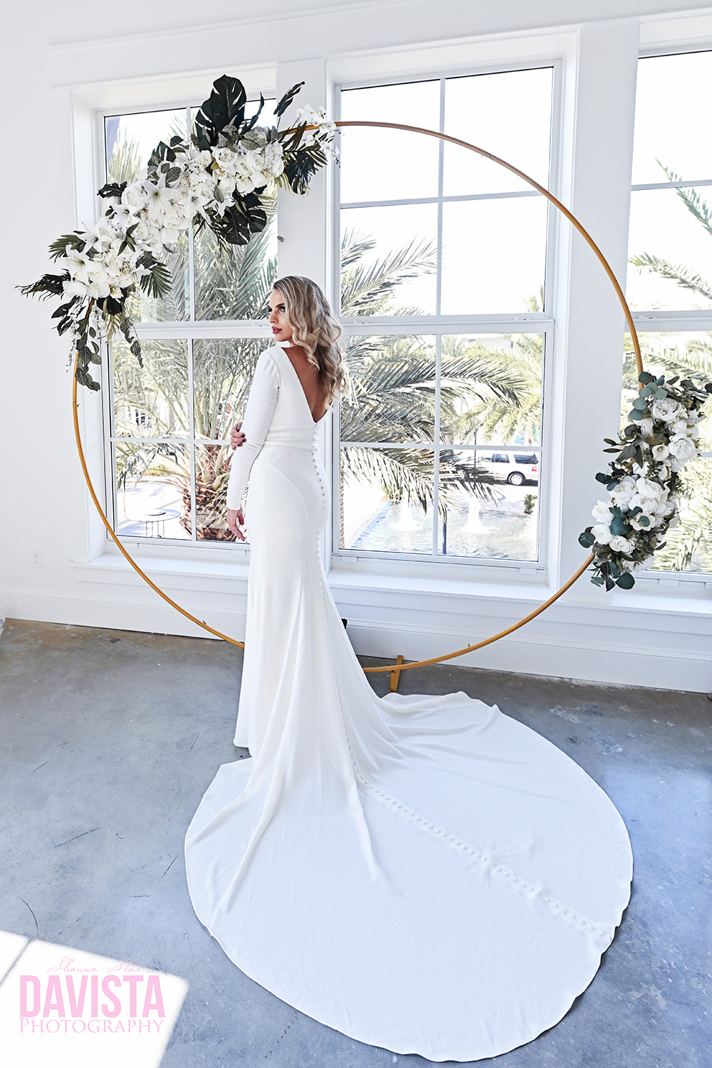 moongate arch the wedding shop bridal styled shoot