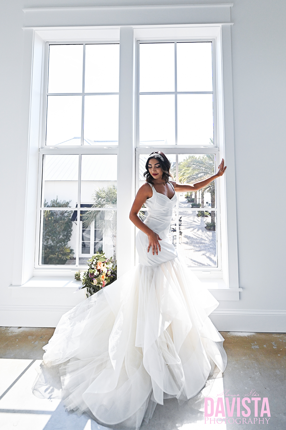 rosemary beach bridal styled photoshoot