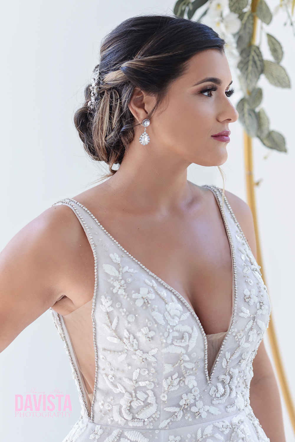 beautiful bridal portraits panama city beach