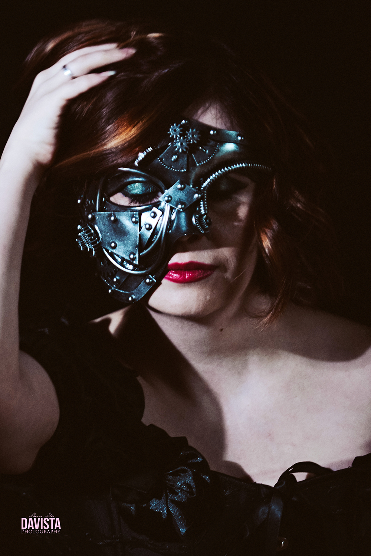 mask steampunk photography