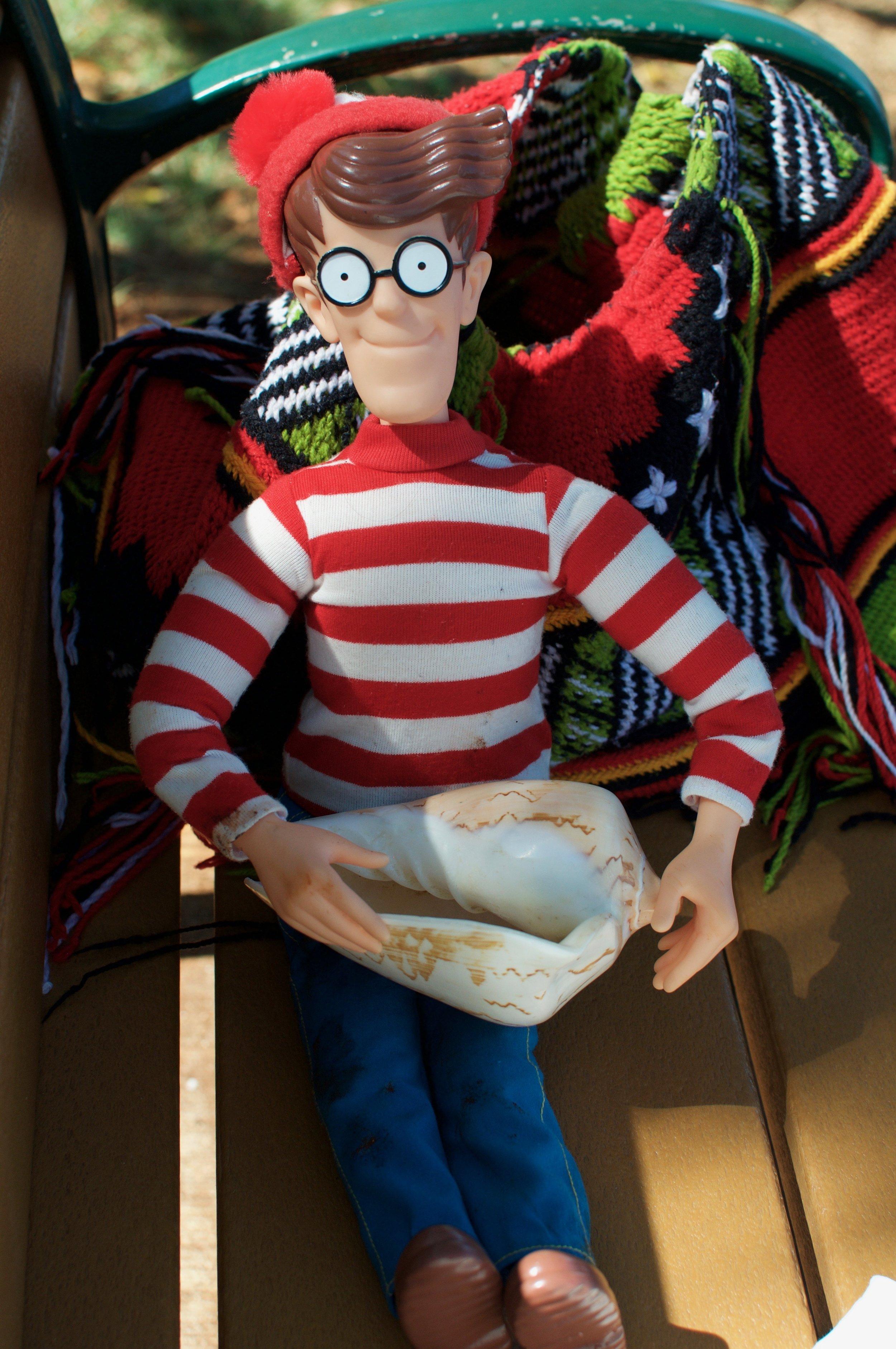 Waldo, my spirit animal