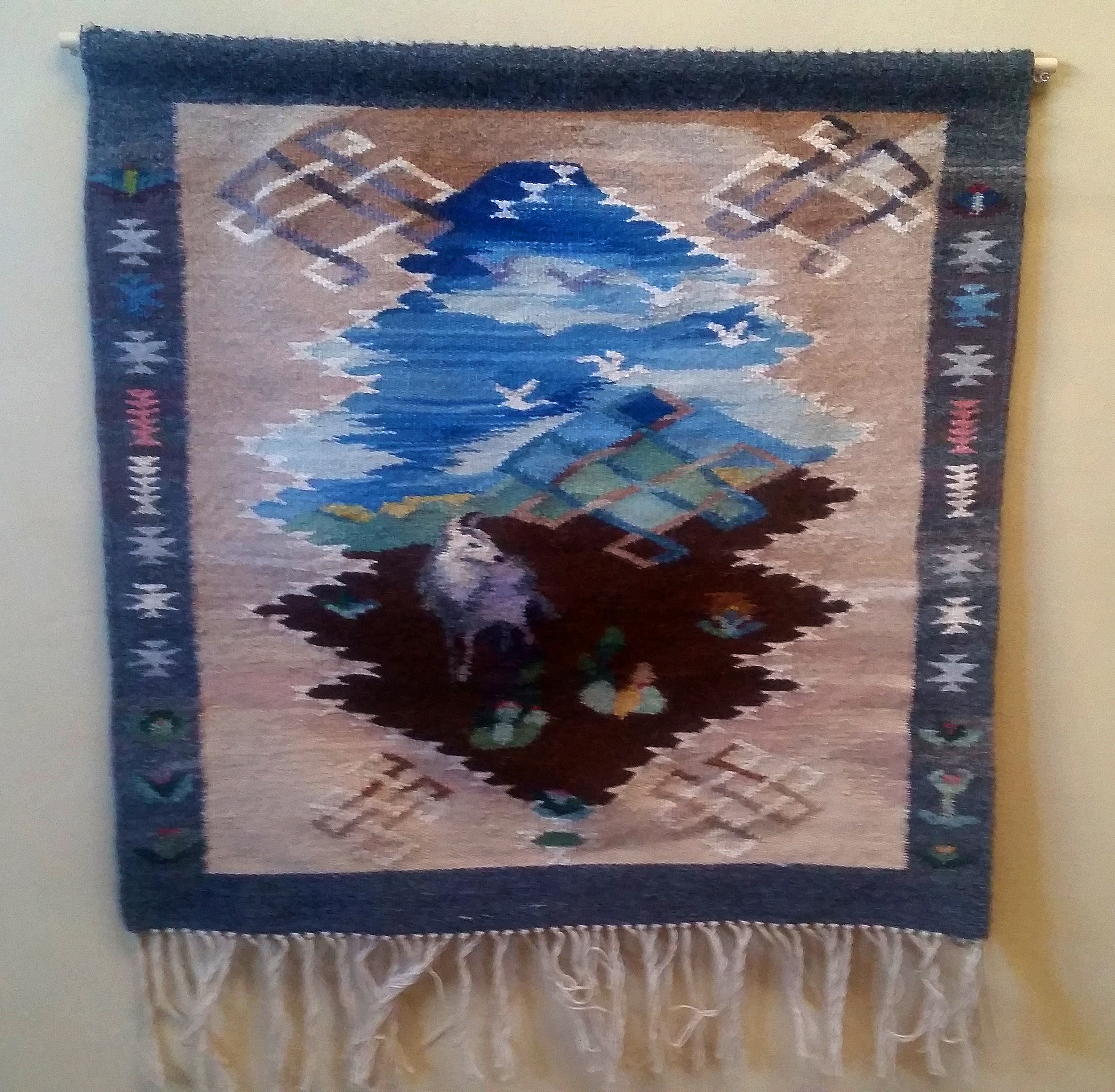 Original tapestry by Naomi Julian