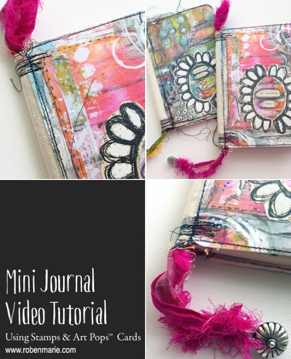 Mini Journal Video Tutorial with Roben-Marie Smith