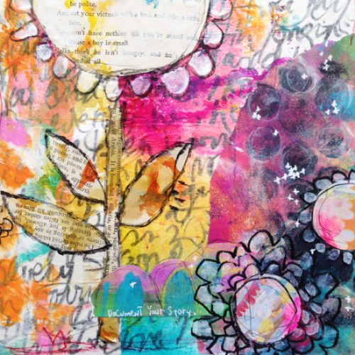 ART JOURNALING WITH RAE MISSIGMAN