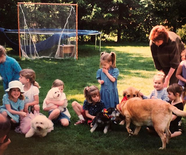 1998 dog party