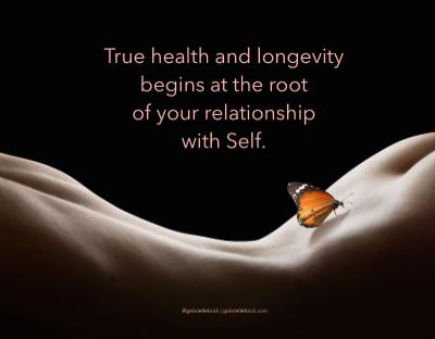 true health relationship w self