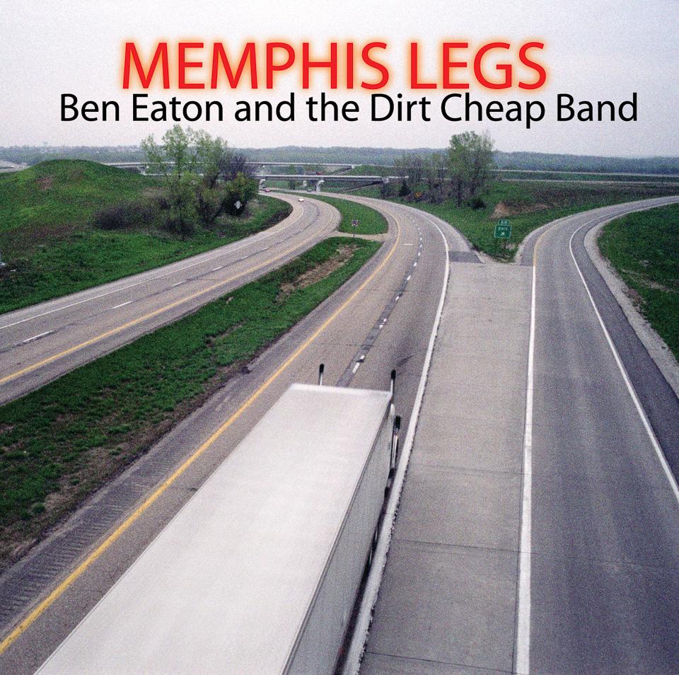 "Ben Eaton ""Memphis Legs"" cover photo Design by Eric Osmundson & Matt Kollasch 2004"