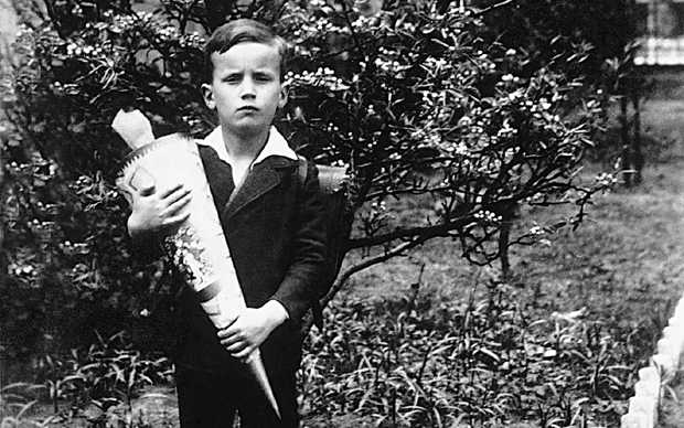Fest as a boy in the early years of the Nazi regime.